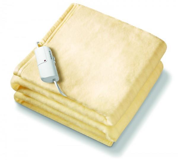 Beurer Monogram Single Size Luxury Heated Soft Overblanket