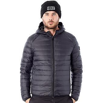 Pull-In Black Hali - Down Filled Hooded Jacket