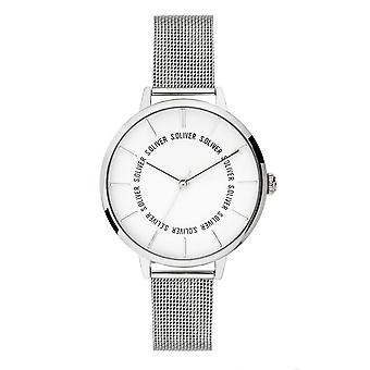 s.Oliver Damen Uhr Armbanduhr Edelstahl SO-3696-MQ
