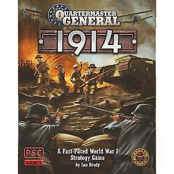 Generalquartiermeister 1914 Brettspiel
