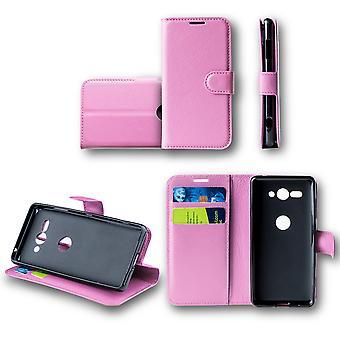 Für Huawei P30 Pro Tasche Wallet Premium Rosa Schutz Hülle Case Cover Etui Neu Zubehör