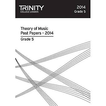 Trinity College London Music Theory Past Papers (2014) Grade 5