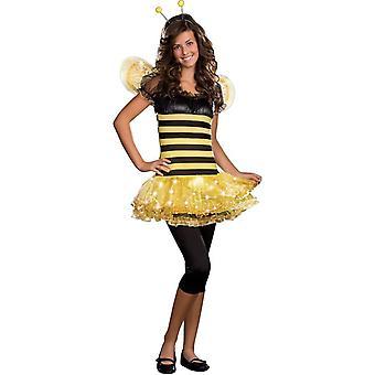 Funkelnde Bee Teen Kostüm
