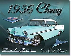Chevrolet 1956 BelAir metal sign   (de)