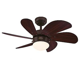 Ceiling fan Turbo Swirl Espresso 76cm / 30