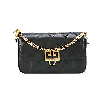 Givenchy Black Leather Shoulder Bag