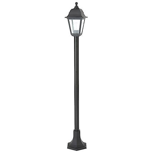 Saxby EL-40044 Pimlico Outdoor 60W IP44 Bollard In Black