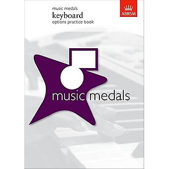 Music Medals Keyboard Options Practice Book - 9781860966996 Book