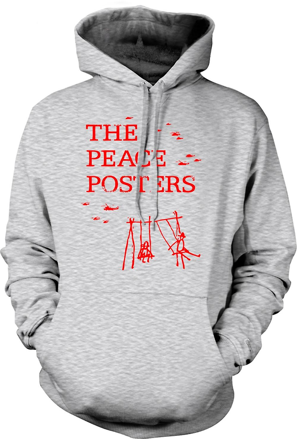 Mens Hoodie - The Peace Posters - Anti War