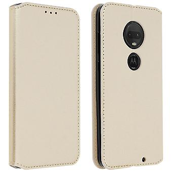 Classic Edition stand case with card slot for Motorola Moto G7 / G7 Plus - Gold Classic Edition stand case with card slot for Motorola Moto G7 / G7 Plus - Gold Classic Edition stand case with card slot for Motorola Moto G7 / G7 Plus - Gold Classic Edition