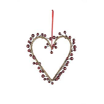 Künstliche Liebe Berry Herzen Aufhänger