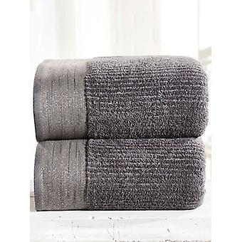 Mayfair 2 Piece Towel Bale Charcoal