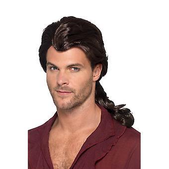Wig pirat Marauder pirat peruki męskie akcesoria karnawałowe
