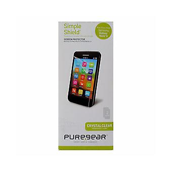 PureGear Simple Shield Screen Protector for Samsung Galaxy Note 4 - Clear