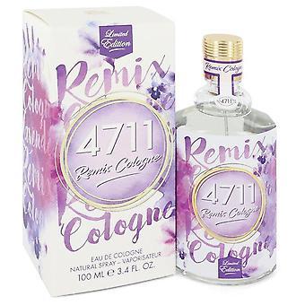 4711 Remix Lavender Eau De Cologne Spray (Unisex) By 4711