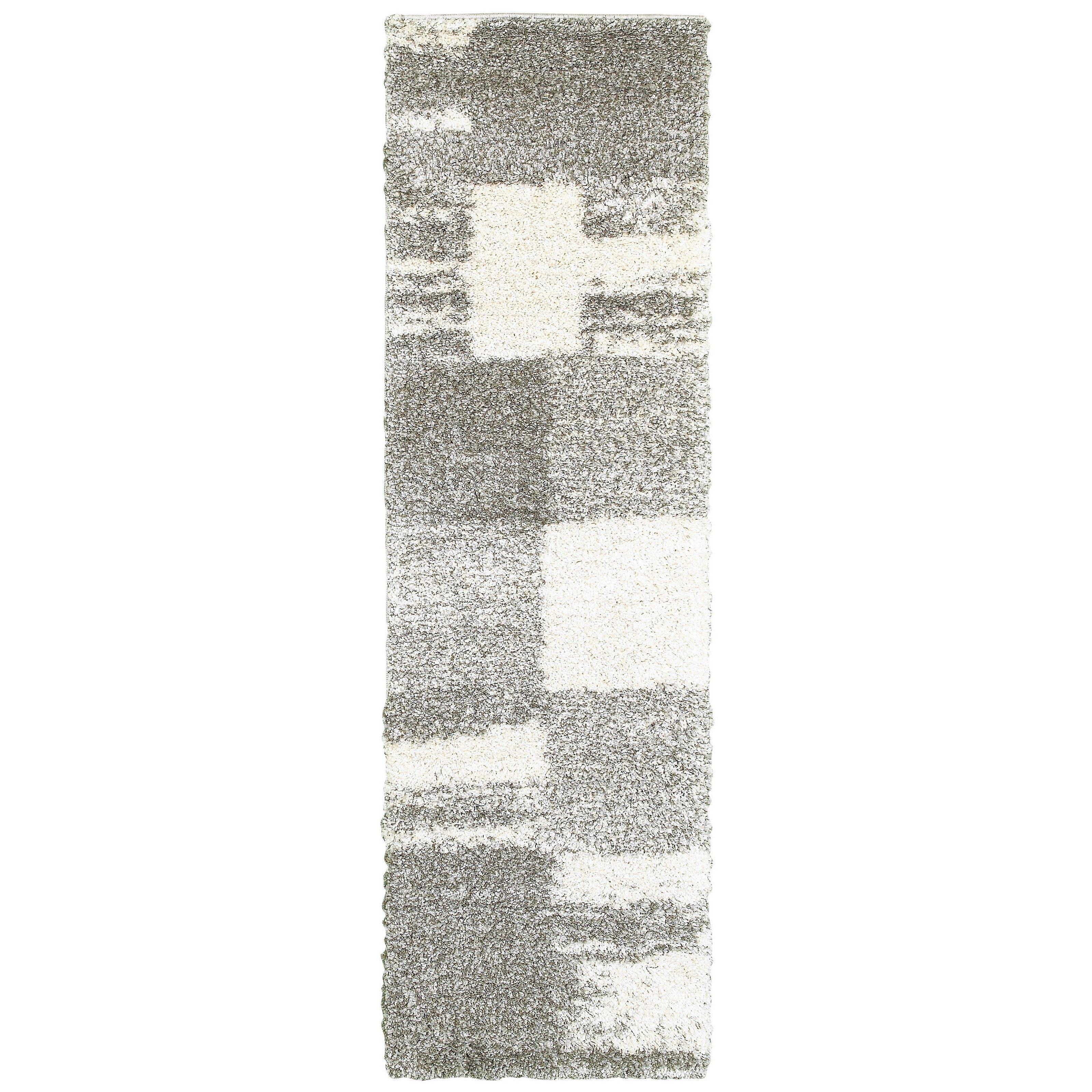 Henderson 5502h ivory/ grey indoor area rug rectangle 5'3