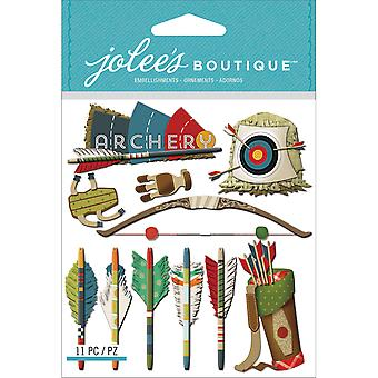 Jolee's Boutique Dimensional Stickers Archery E5021633