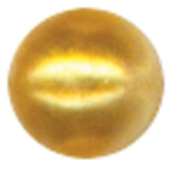 Crystal Stickers Pearls 3Mm Round 125 Pkg Gold Csp3mm 2516