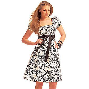 Misses' Dresses In 2 Lengths  6  8  10  12  14 Pattern M5619  A50