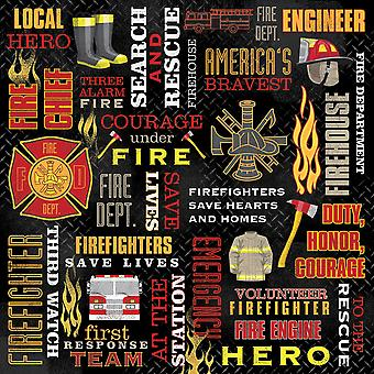Collage Firefighterpaper12