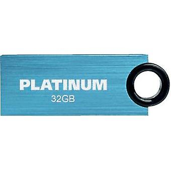 USB stick 32 GB Platinum Slender Blue 177547 USB 2.0