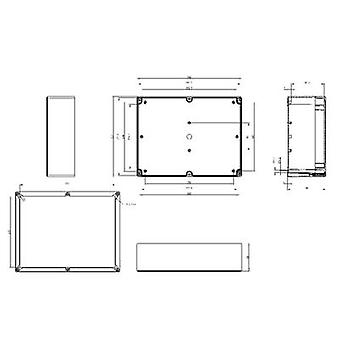 Build-in casing 302 x 232 x 110 Polycarbonate (PC) Light grey (RAL 7035) Spelsberg TG PC 3023-11-to 1 pc(s)