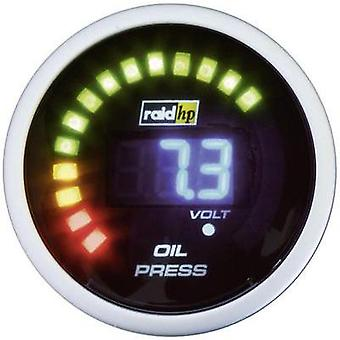 raid hp Oil Pressure Gauge 0 to 7 bar 12V