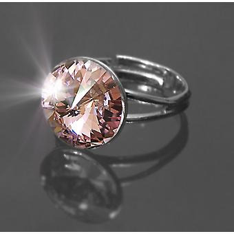 Ring with Light Amethyst Crystal RMB 1.3