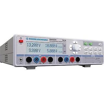 Bench PSU (adjustable voltage) Rohde & Schwarz HMP2020 0 - 32 Vdc 0 - 10 A 188 W USB , RS232 OVP, programmable No. of ou