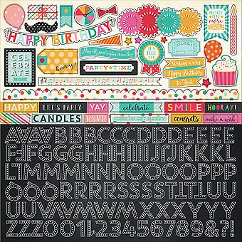 Party Time Cardstock Stickers 12