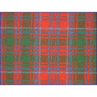 Grant Red, Ancient - Pure Wool Tartan