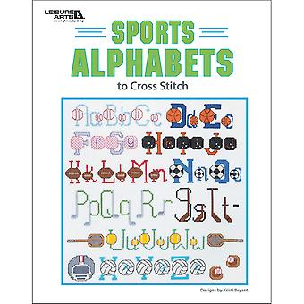 Leisure Arts-Sports Alphabets LA-6733