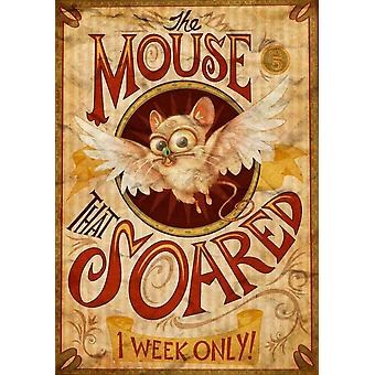 The Mouse That Soared Movie Poster (11 x 17)