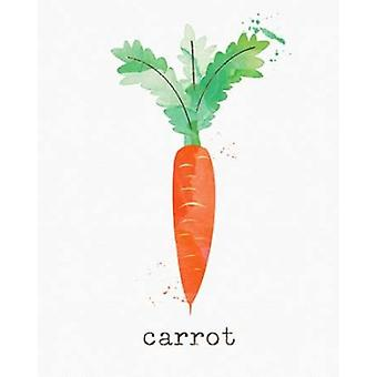 Carrot Poster Print by Linda Woods