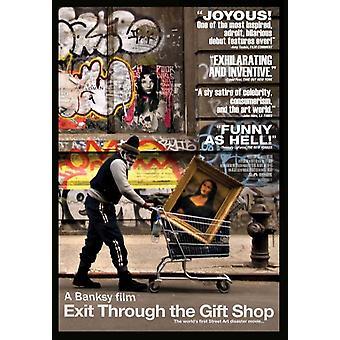 Выход через постер фильма магазин подарков (11 x 17)