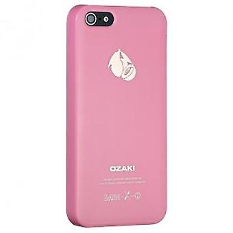 Ozaki OC537PH O! Coat fruit peach cover case iPhone 5 / 5s - pink