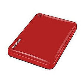 Toshiba canvio connect external hard drive 2000GB ii 2tb red