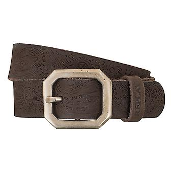 REPLAY belt women's belts leather women's leather belt Brown 5072
