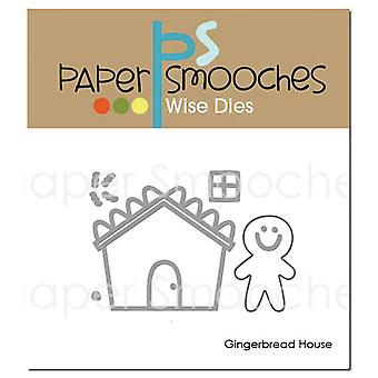 Paper Smooches Die-Gingerbread House NOD353