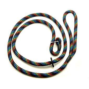KJK rebslageri fletning Slip bly med gummi stoppe sorte regnbue 8 mm X 150 cm