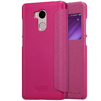Nillkin smart cover Pink for Xiaomi Redmi 4 per bag sleeve case pouch protective