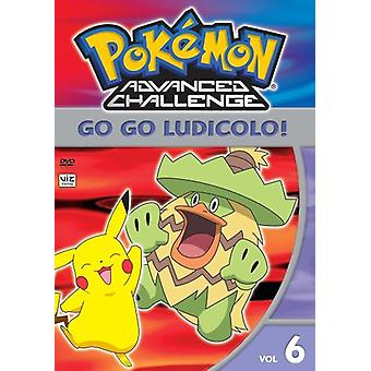 Pokemon Advanced Challenge: Vol. 6-Go Go Ludicolo [DVD] Stati Uniti importare