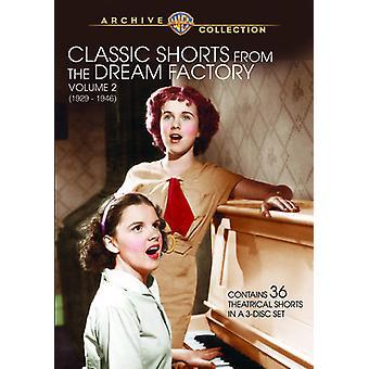 Vol. 2-Classic Short de l'importation des USA de Dream Factory [DVD]