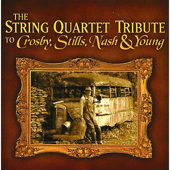Tribute to Crosby Stills Nash & Young - The String Quartet Tribute to Crosby, Stills, Nash & Young [CD] USA import