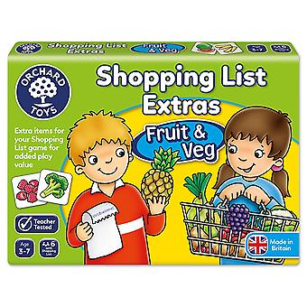 Orchard Shopping List Booster Pack Fruit New