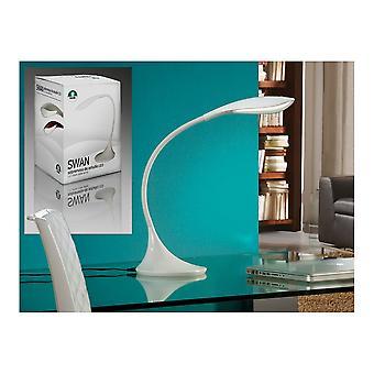 Lámpara de mesa LED blanco cisne de Schuller