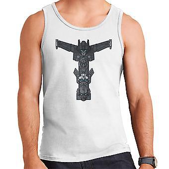 Autobot Totem Transformers Optimus Prime Bumblebee Ironhide mænds Vest