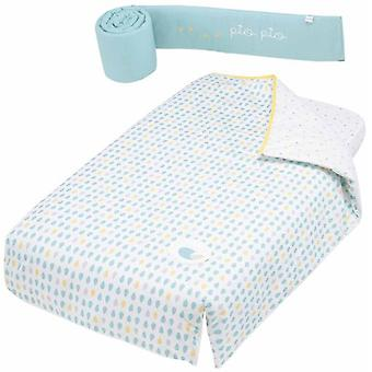 Micuna Quilt and Protector Kit Cradle 120x60 Tx-1650 Pio-Pio