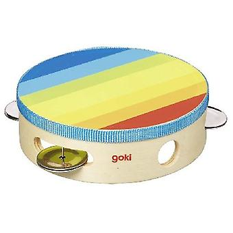 Goki Tambourine with bells (Toys , Educative And Creative , Music , Instruments)