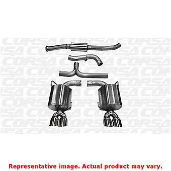 CORSA Performance Cat Back Exhaust 14863 Polished Fits:SUBARU 2011 - 2011 IMPRE